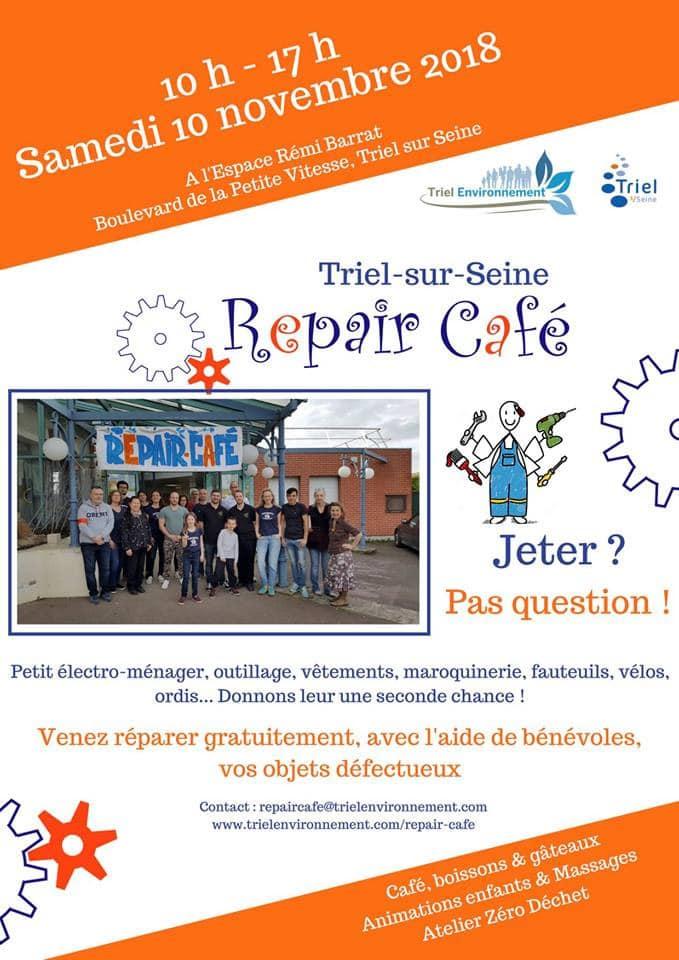Repair-cafe Triel sur Seine