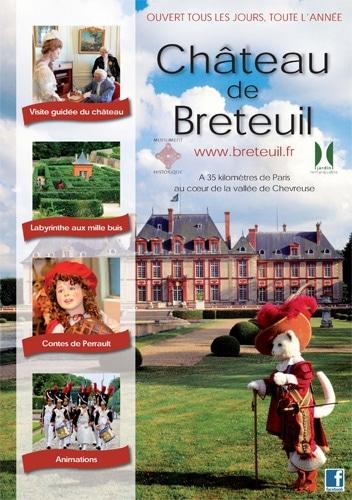 chateau de breteuil Ouest de Paris