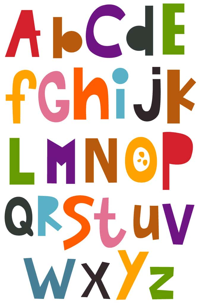 Forest International School -Alphabet