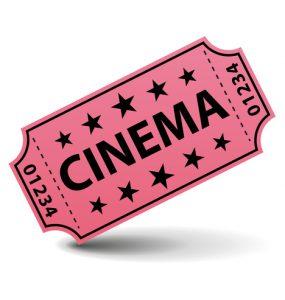 Cinéma ticket