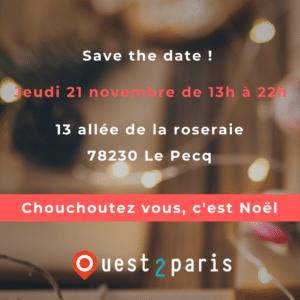 Chouchoutez-vous c'est noel - Paris ouest