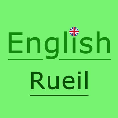 English Rueil-Malmaison Ouest de Paris