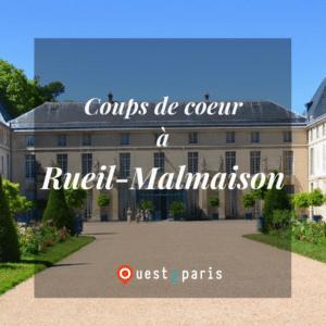 Rueil Malmaison Coups de Coeur