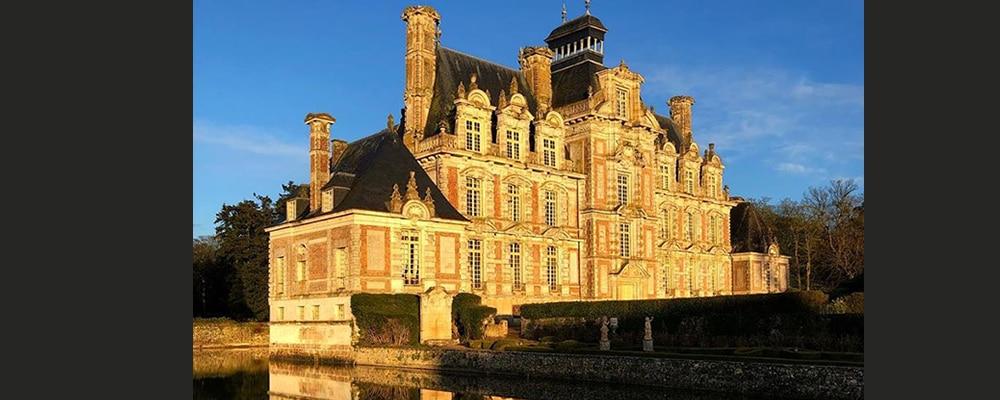 Château de Beaumesnil dans l'Eure