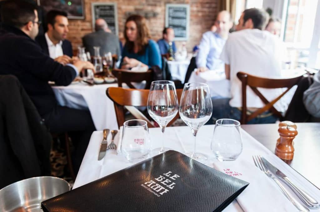 Restaurant Le Bel Ami - Le Vésinet - Ouest de Paris
