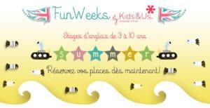 Fun weeks Kids&Us St Germain en Laye