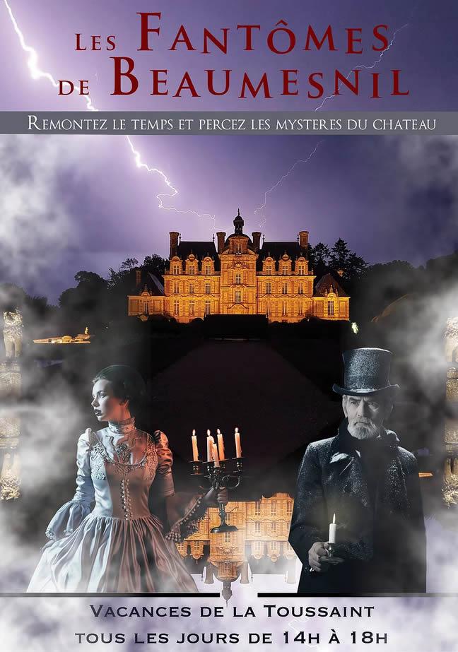 Chateau de Beaumesnil Ouest de Paris