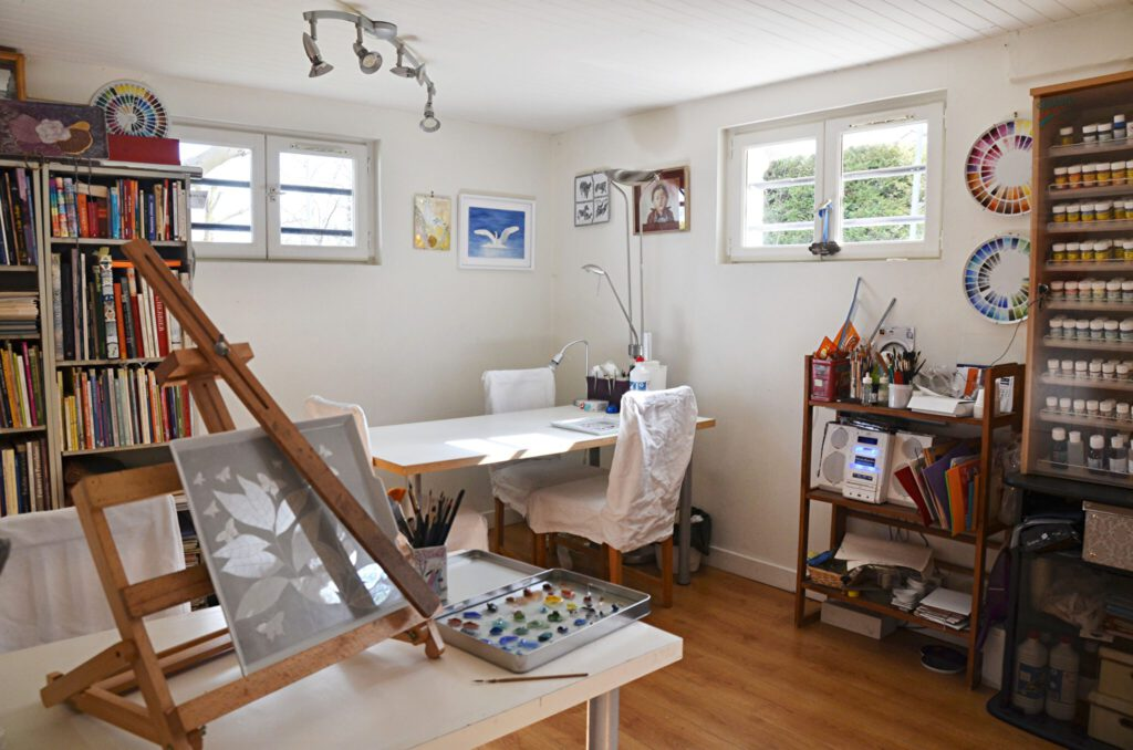 Atelier de Fleur de Kaolin Saint Germain en Laye
