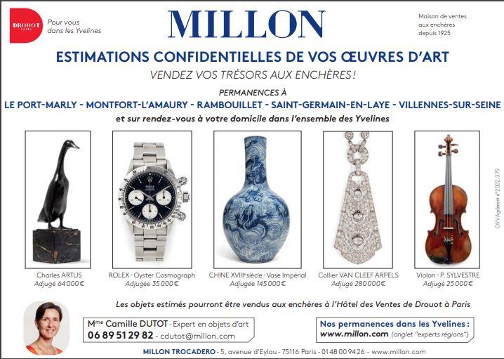 Camille Dutot Millon - Estimations d'Oeuvres d'Art