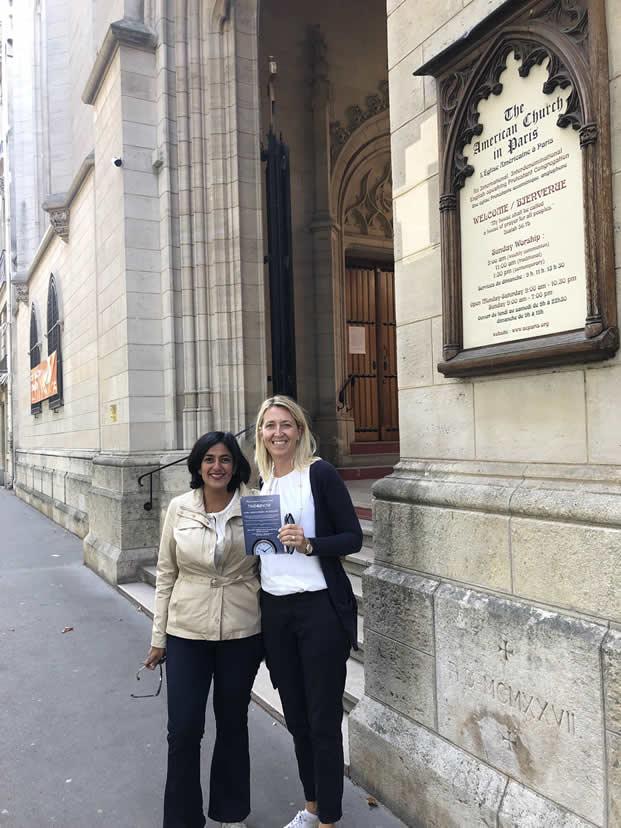 Aparna et Gabrielle Time4unow Paris ouest