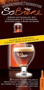 So biere - Ouest de Paris Saint germain en Laye
