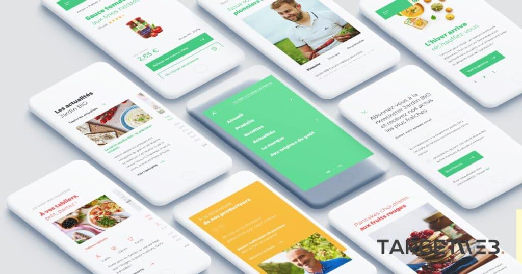 TARGET WEB -presentation-mobile