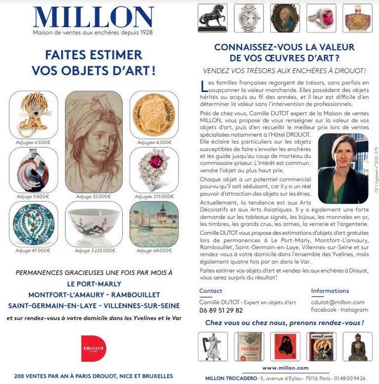 Millon - Camille Dutot - Paris Ouest Estimation