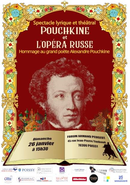 Opera Russe Pouchkine - Poissy - Paris ouest