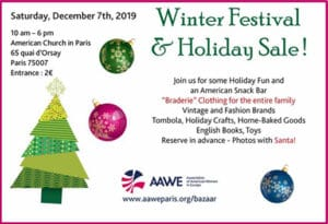 Winter Festival and Holiday Sale Paris