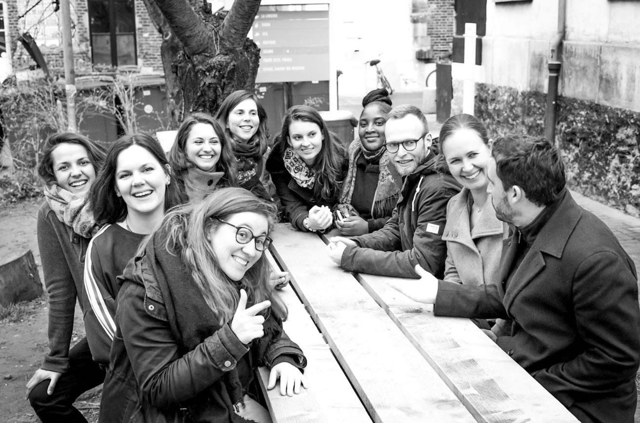 L'équipe benenova Benevolat paris ouest