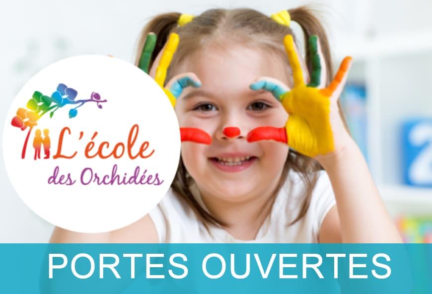 Portes Ouvertes Ecole des Orchidées Le Port Marly Paris Ouest