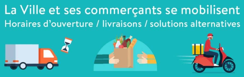 Versailles les commerçants