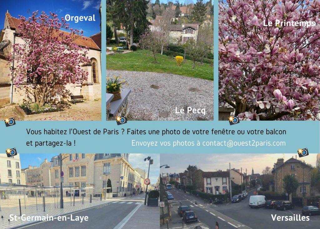 Ouest de Paris West to Paris