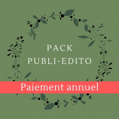 Pack Publi Edito Ouest de Paris