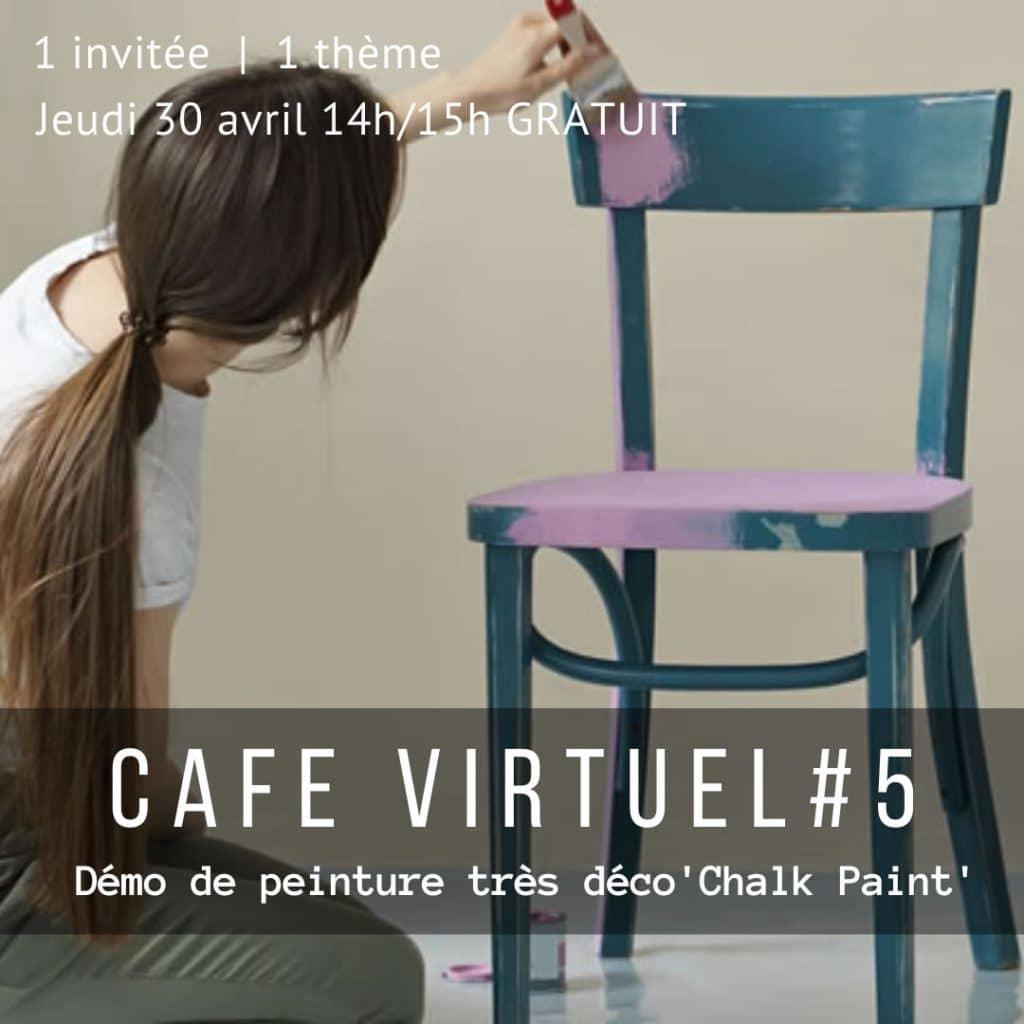 Café Virtuel Atelier de peinture tres deco Paris ouest