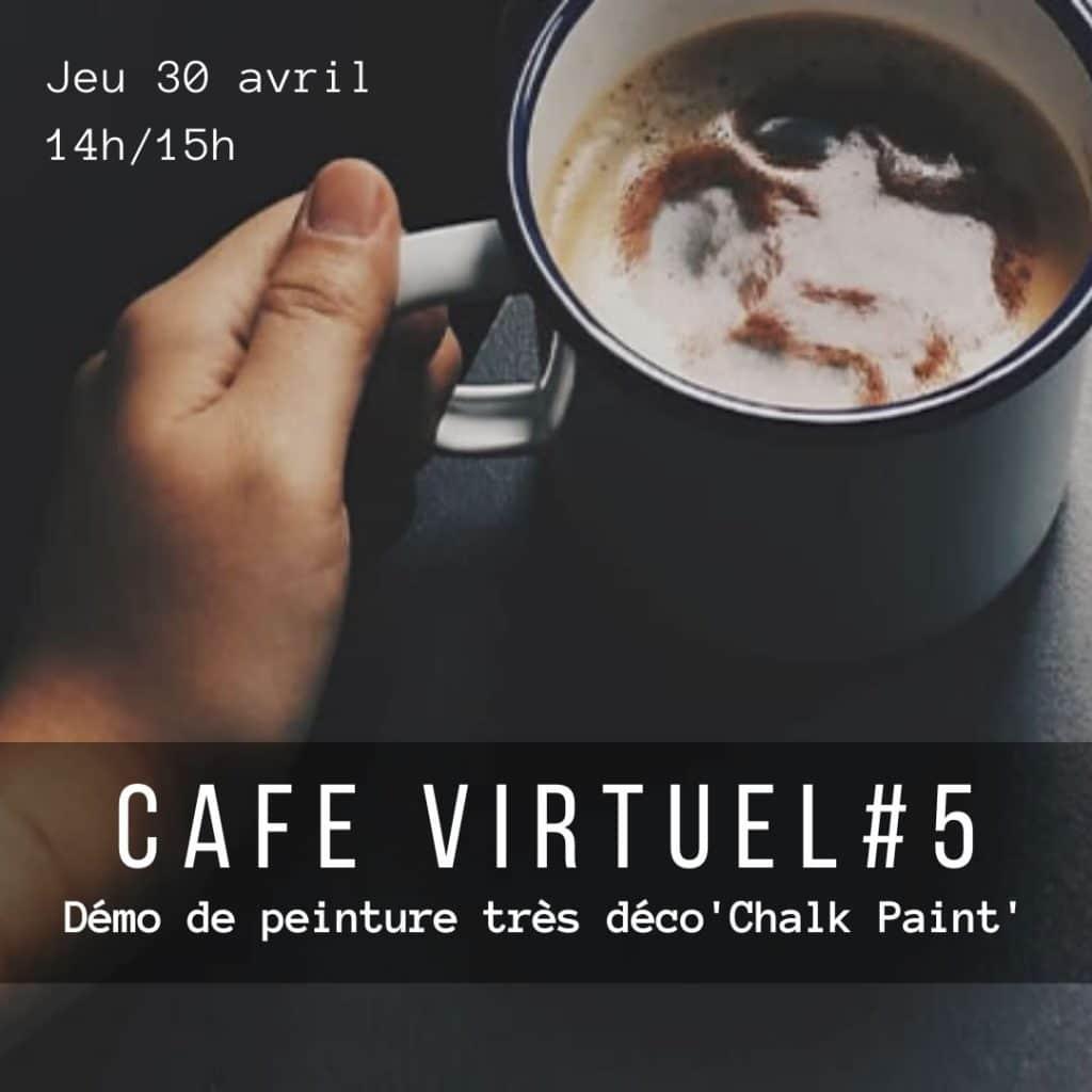 Café Virtuel Atelier peinture tres deco Paris ouest