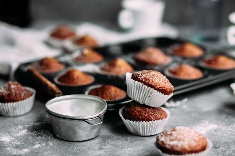 recettes de cuisine muffins banane chocolat