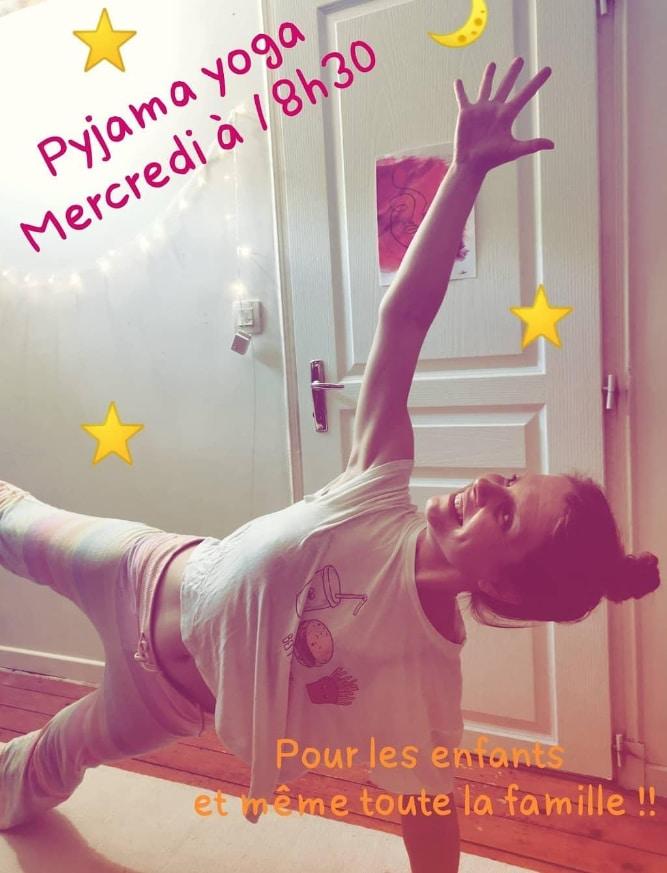 Pyjama Kids Yoga Gina