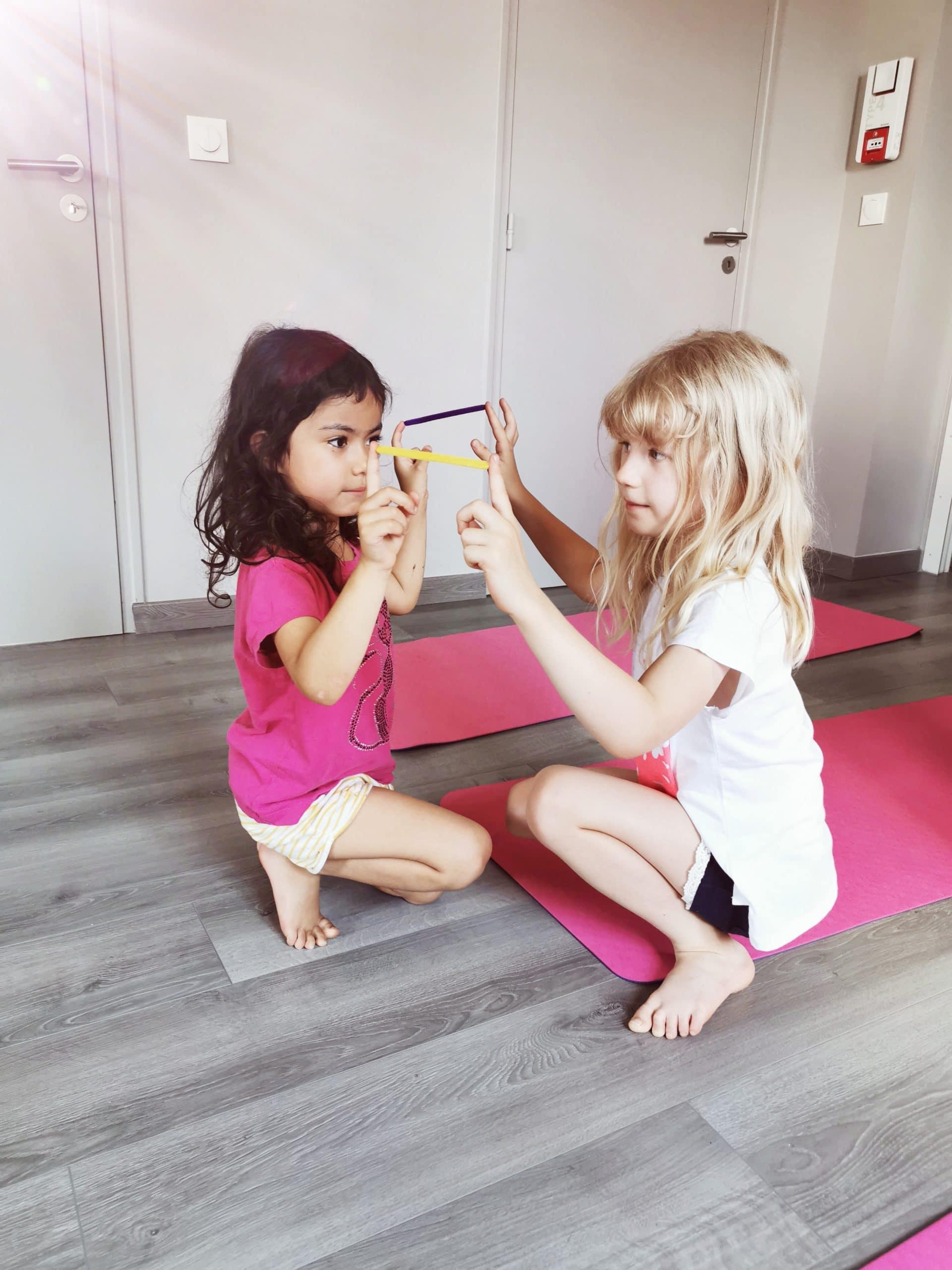 Yoga with Gina kids workshop