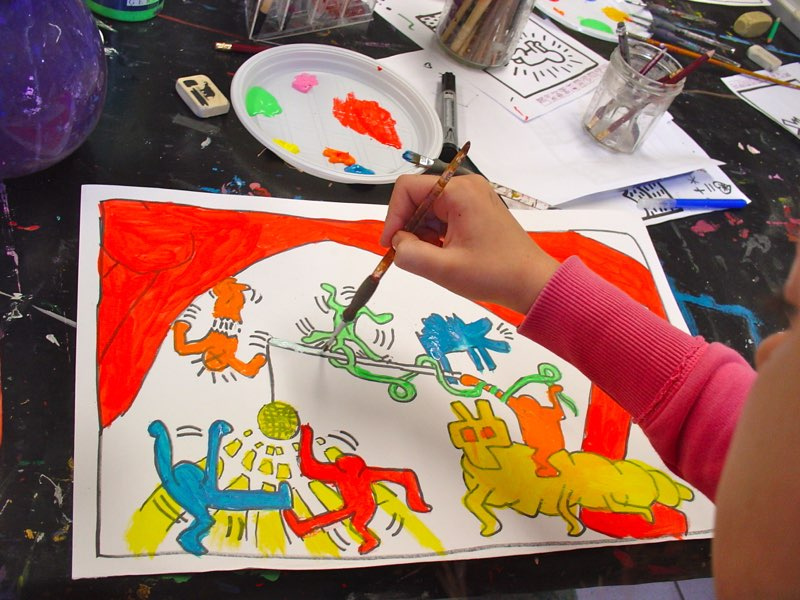 Atelier Piece Unique Enfants - Arts plastiques