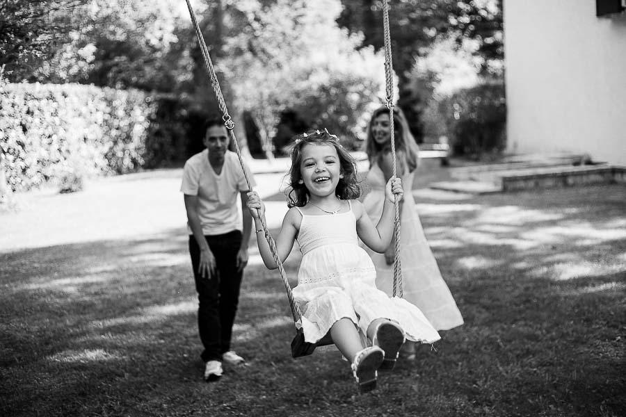 Bulles de joie Seance photo famille exterieur Yvelines