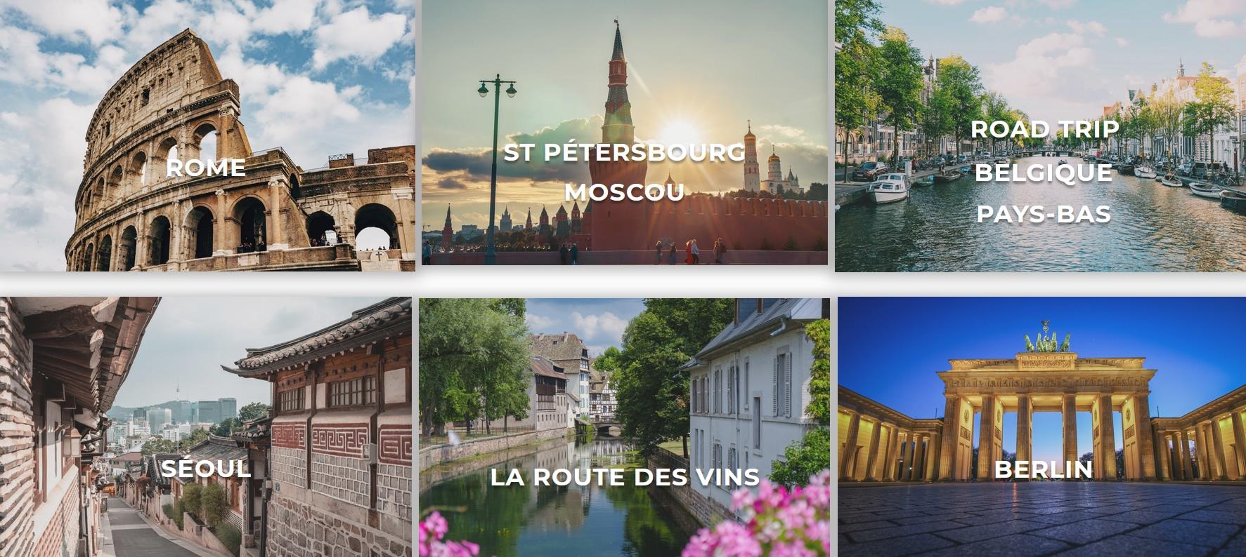 Voyages particuliers paris Ouest Events Creators