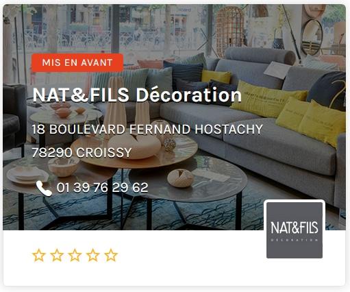 Nat & Fils Décoration Paris Ouest