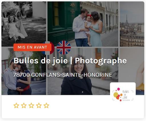 Bulles de joie ouest de paris