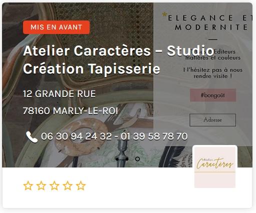 Atelier Caracteres - Studio Création Tapisserie Paris Ouest