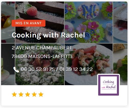 Cooking With Rachel Ouest de Paris
