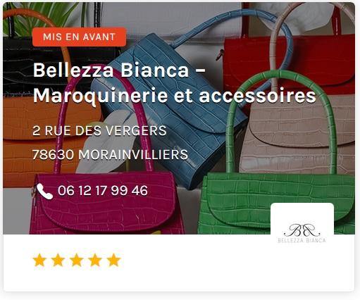 Belleza Bianca Maroquinerie et accessoires paris ouest