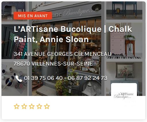 L'Artisane Bucolique Chalk Pain Annie Sloan Paris Ouest
