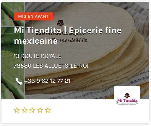 Mi Tiendita epicerie fine mexicaine Paris Ouest
