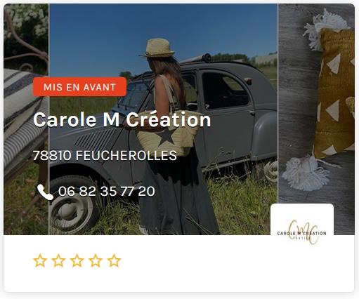 Carole M creation ouest2 paris