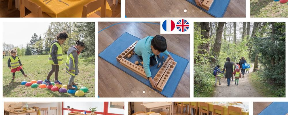 Ecole Montessori 21 Bilingue Anglais à l' Ouest de Paris