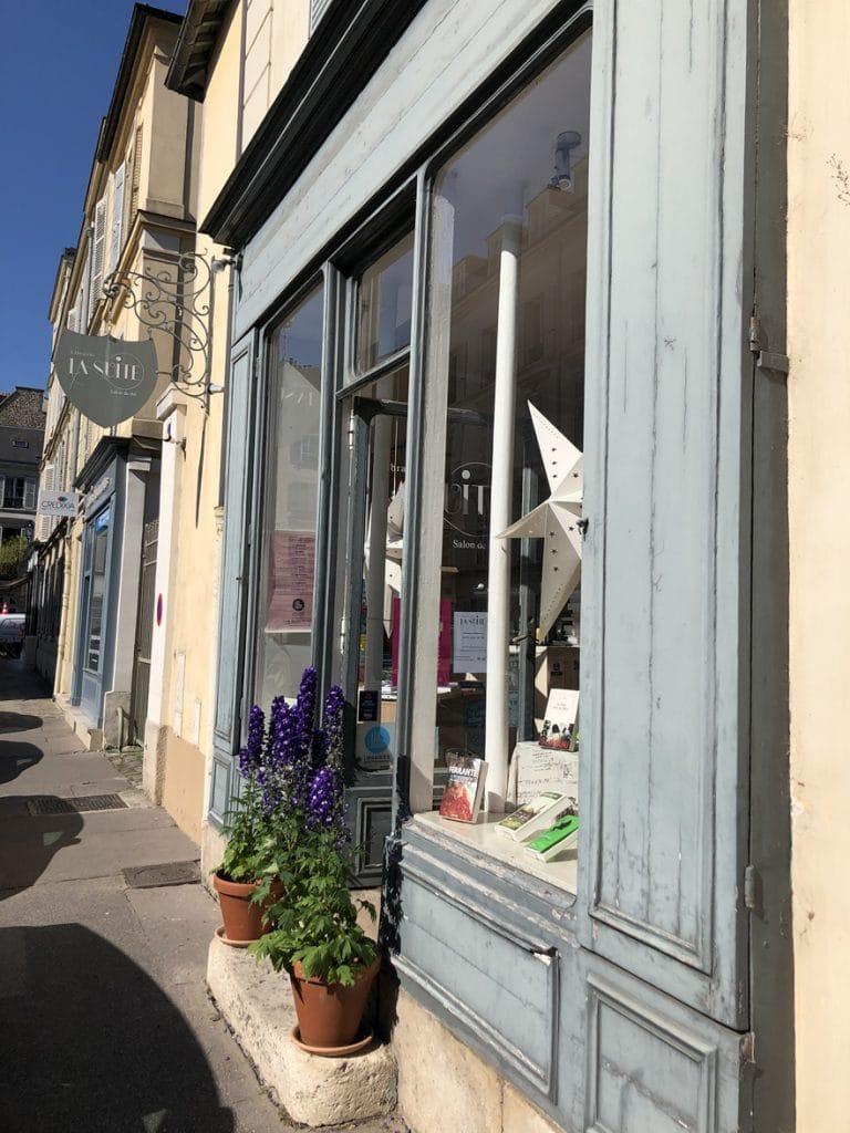 La Librairie Salon de The a Versailles Ouest de Paris