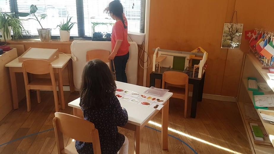Ecole Montessori Internationale de Neuilly à l' Ouest de Paris