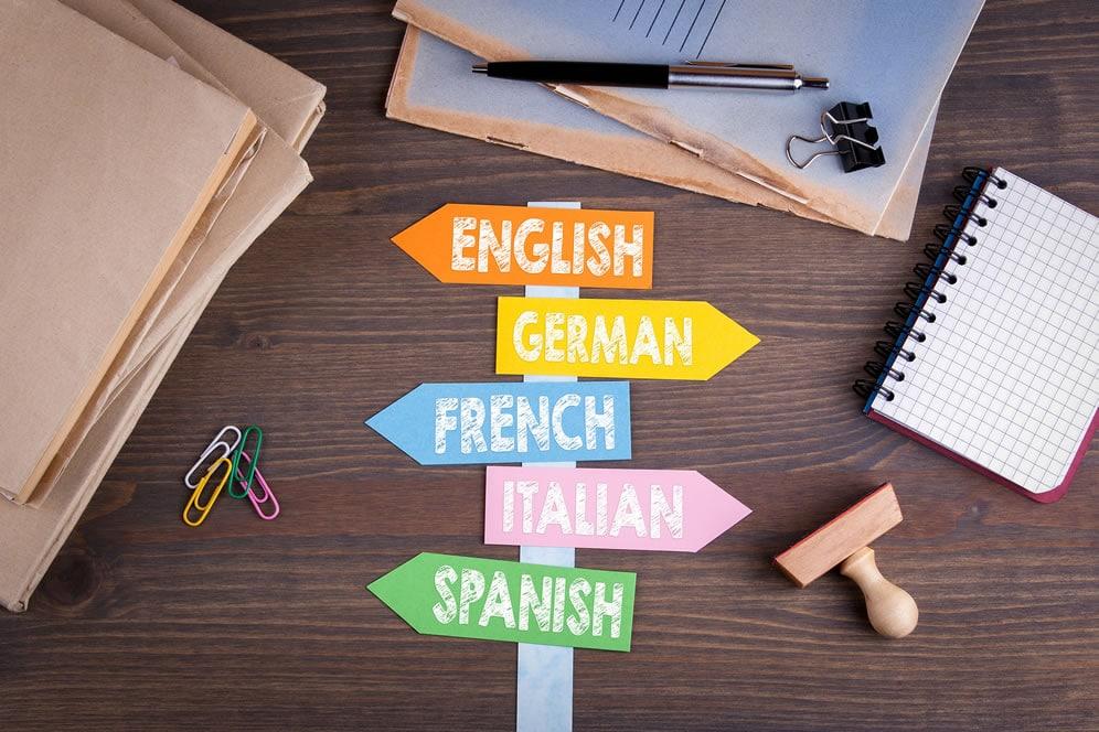 Cours de langues - ados enfants adultes