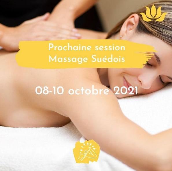 Institut Cassiopee Formation Massage Suedois