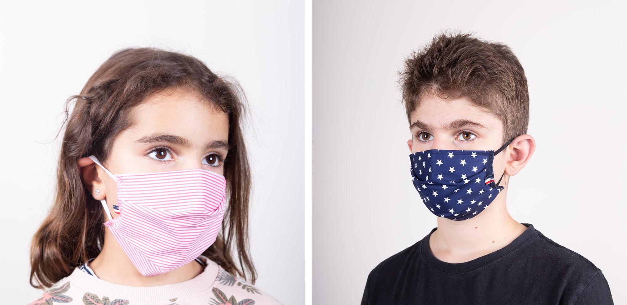 Masque Alexe - enfants - Le Vesinet