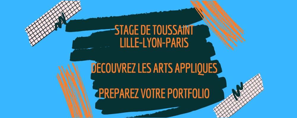 Stage Toussaint Pass Art Ouest de Paris