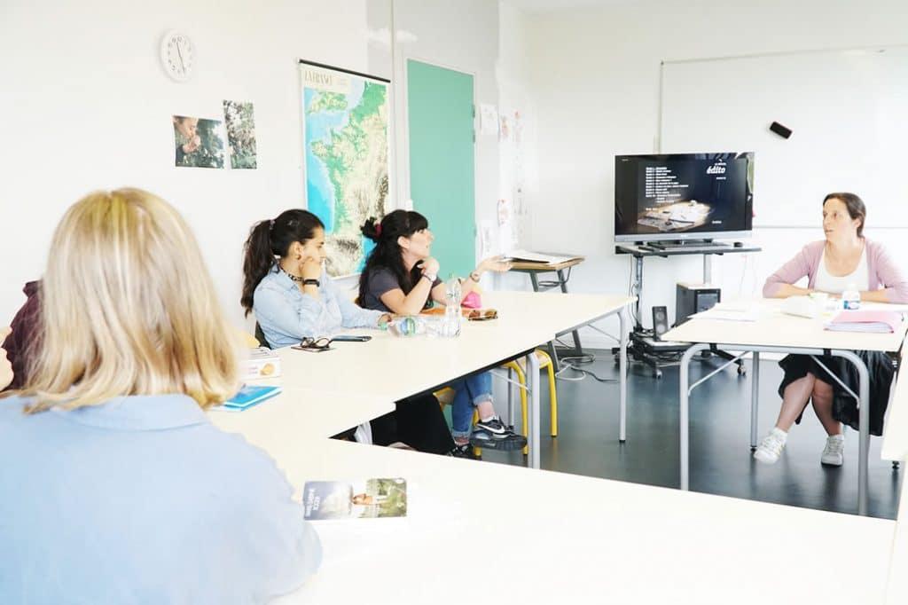 Cours de français pour étrangers à La CLEF St Germain en Laye