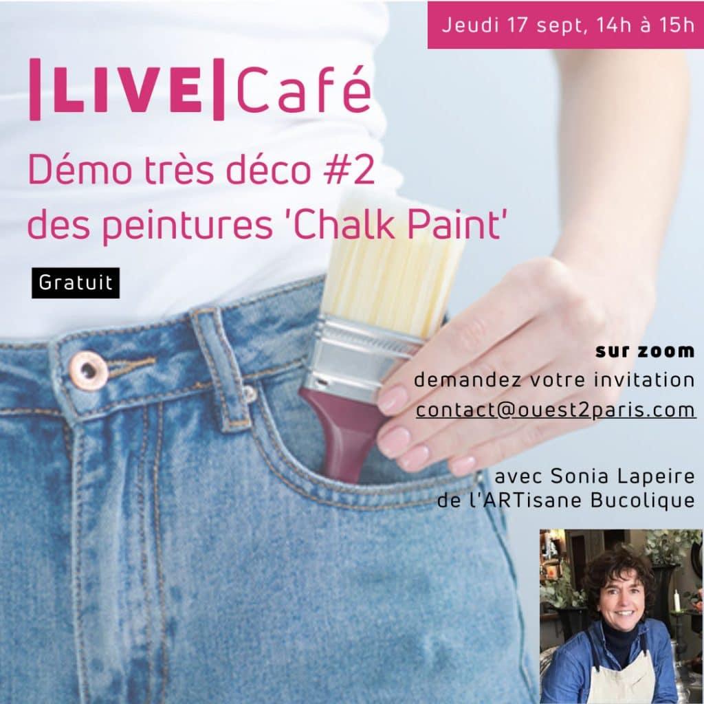 Live Cafe zoom ouest de paris