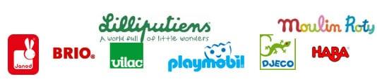Logo marque jouets Nuage d'enfants a Saint Germain en Laye